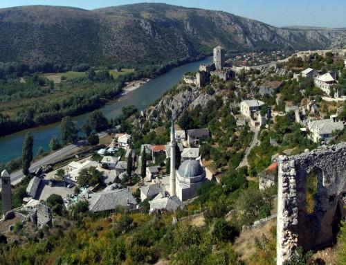 Gita nella città medievale di Pocitelj